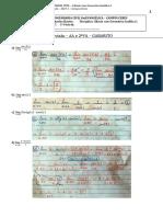 Revisão para 2ª VA - Cálculo I (gabarito)