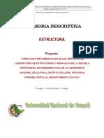 1.0 MD ESTRUCTURAS