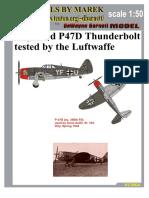 MareK_P-47D ''thunderbolt'' (Captured, Luftwaffe) (1)