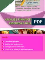 Análise Financeira de Empresas Rurais