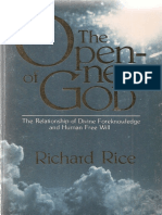 Rice, Richard. The Openness of God (Nashville, TN. Pacific Press, 1980).pdf