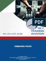 Brochure Sky Training Aviation 2017