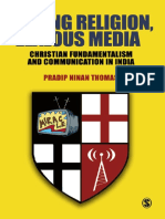 Pradip N. Thomas - Strong Religion, Zealous Media_ Christian Fundamentalism and Communication in India (2008, Sage Publications Pvt. Ltd)