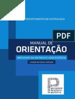 Manual de Obesidade Sociedade Brasileira de Pediatria
