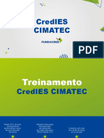 Treinamento - CredIES CIMATEC