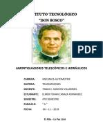 GRUPO 18 - AMORTIGUADOR HIDRAULICO Y TELESCOPICO