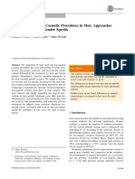 Literature Review of Cosmetic Procedures in Men Approaches and Techniques are Gender Specific