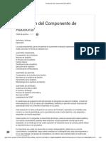 2.Evaluación del Componente de Auditoría