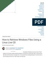 How to Retrieve Windows Files Using a Linux Live CD.pdf