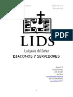 LIDS Diáconos y servidores 2018