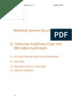 Immune Modifiers From Shiitake