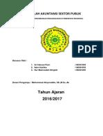 MAKALAH AKUNTANSI SEKTOR PUBLIK SEJARAH DAN PERKEMBANGAN PENGANGGARAN DI PEMERINTAH INDONESIA