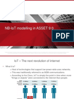 NB IoT support in ASSET 9.0