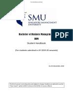 BBM Student Handbook_(Intake AY19-20)