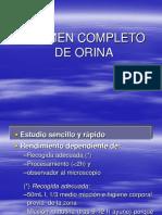 Clase 2.2 - Examen Completo de Orina