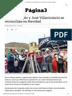 Juan Alvarado y José Villavicencio se reconcilian en Navidad _ Página3