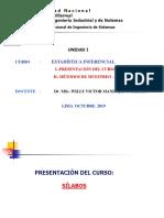 EI CLASE 1 - Introducción y Metodos de muestreo -Estadística Inferencial.pptx