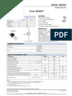 Transistor MOSFET IRFZ44