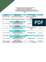 susunan acara seminar DRAFT