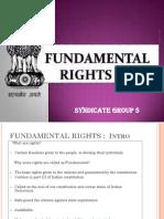 SG 05 - Fundamental Rights