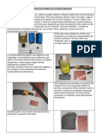 Circuitos Impresos y Piscina de Atacado Con Cloruro Ferrico