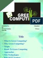 CSE Green Computing ppt (2)
