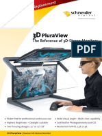 Stereoscopic 3D-Monitor 3dPluraView