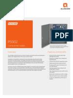 Schlage_Power_Supplies_PS902_Data_Sheet_104195