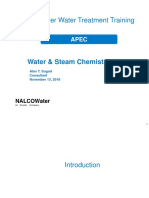 Good Nalco Document for High Pressue Boiler Chemistry