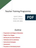 Teacher Training Programme