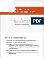 Chapter 1 - Basic Hydrology