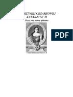 Caryca Katarzyna II - Pamietniki