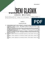 Sluzbeni Glasnik Grada Mostara Broj 14 2019