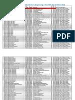 AY1920 SEM1 Remedial Examinations (Engineering) - Timetable