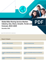 Global Bike-Sharing Service Market
