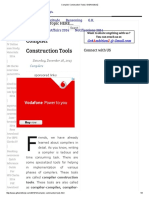 Compiler Construction Tool