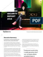 The Hacker-Powered Security Report 2018