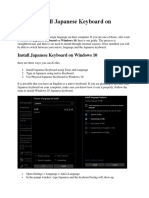 How to Install Japanese Keyboard on Windows 10.docx