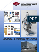 Brochure Giulianelli Hot Printing Systems
