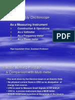 Cathode Ray Oscilloscope - For Teachers