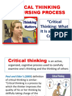CRITICAL THINKING AND NURSING PROCESS.ppt