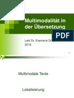 Multimodalität und Übersetzung
