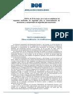 Real Decreto 203-2016 Ascensores