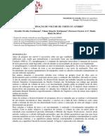 DETERMINAÇÃO DE VOLUME DE CORTE OU ATERRO