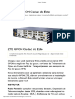 Curso OLT ZTE - Network Education
