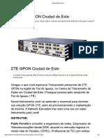 Curso OLT ZTE - Network Education