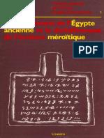 Unesco - Peuplement de l'Egipte Ancienne