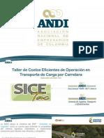Contexto del Transporte de Carga  Colombia.