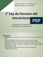 E. 2° - Ley de Newton del movimiento