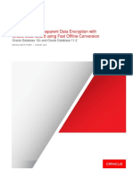 Oracle TDE conversion